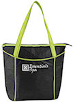 Striped Non Woven Cooler Totes